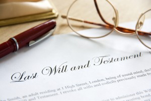 Northern VA Wills and Estates, Baltimore Power of Attorney